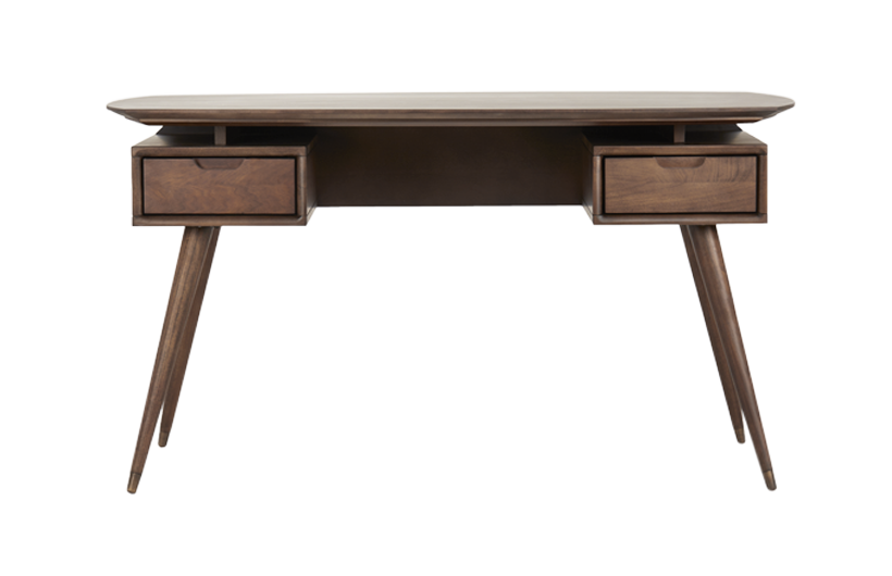 Wood desk png. Spruce solid study table