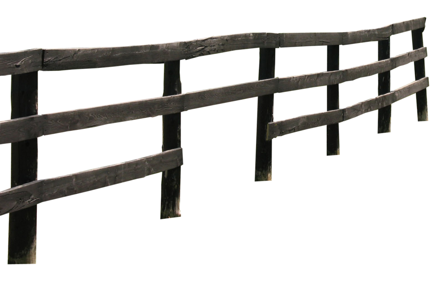 Wood fence png. Wooden by camelfobia on