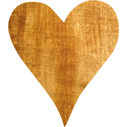 Wood heart png. Light icon free icons