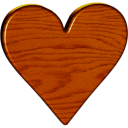 Wooden heart png. Wood icon x pixels