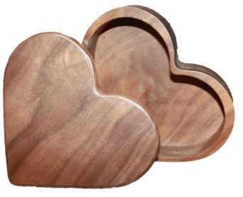Wooden heart png. Keepsake box home occasions