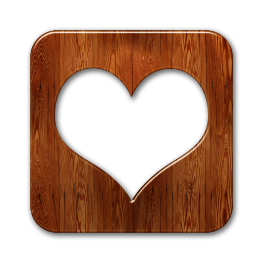 Wood heart png. Favorite love icon download