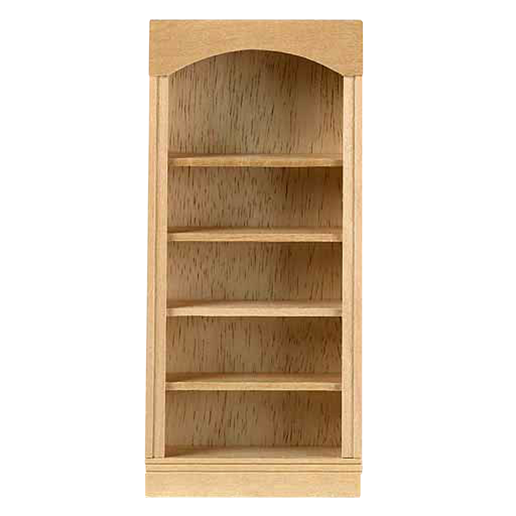 Wood shelf png. Scale houseworks bookcase
