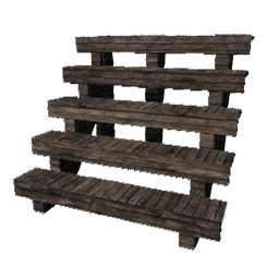 Wood stairs png. Wooden one level primitive