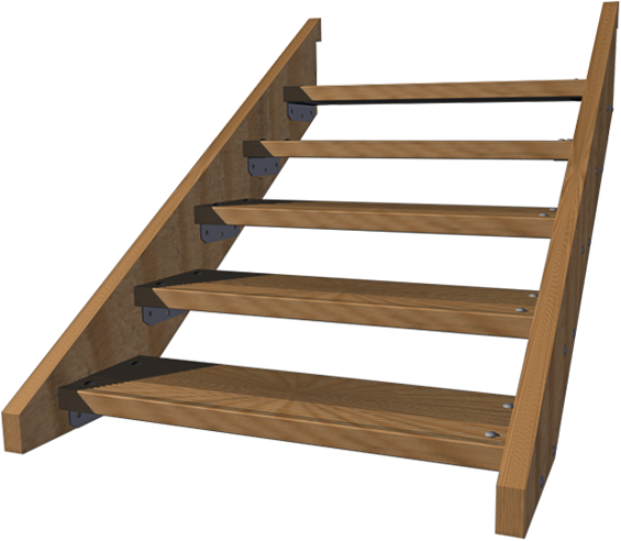 Wood stairs png. Prefab outdoor home depot