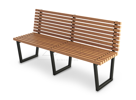 Wooden bench png. Bergen street and park