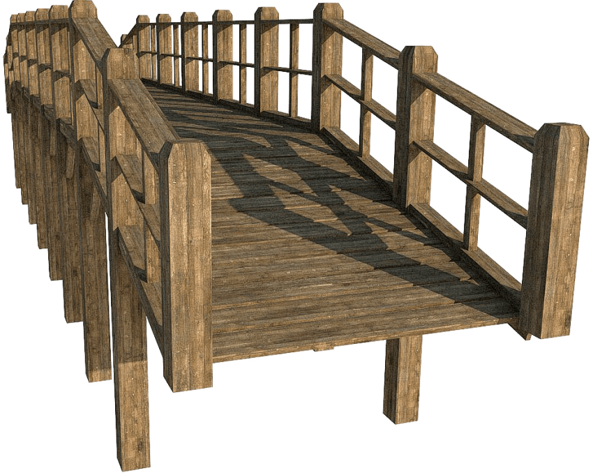 Wooden bridge png. Free images toppng transparent