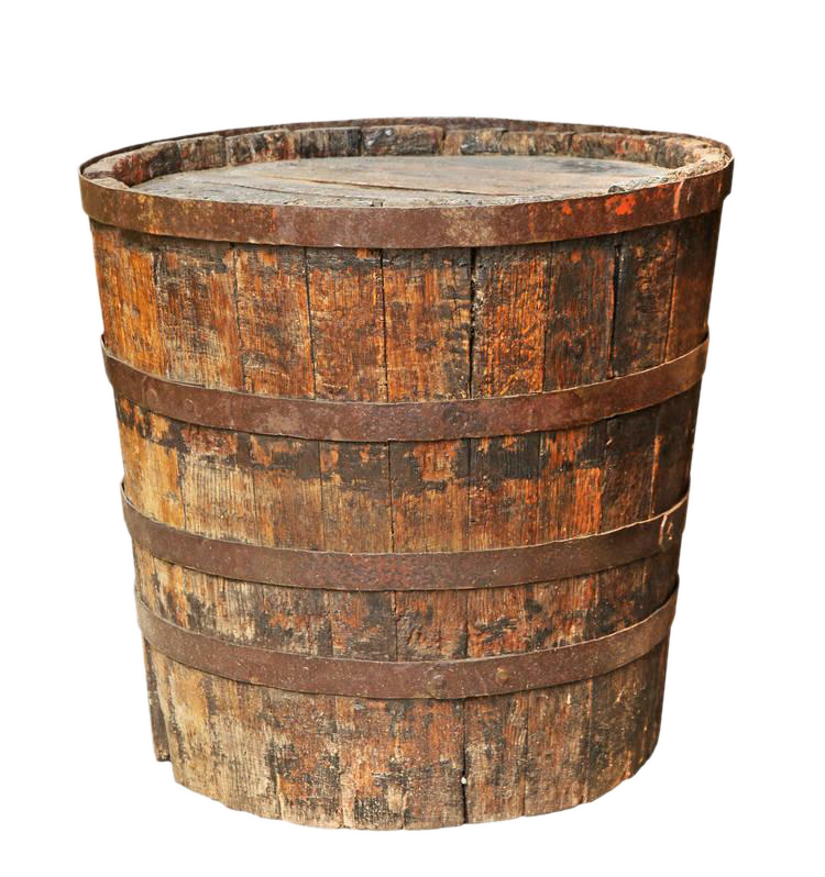 Wooden bucket png. Barrel stock photography make