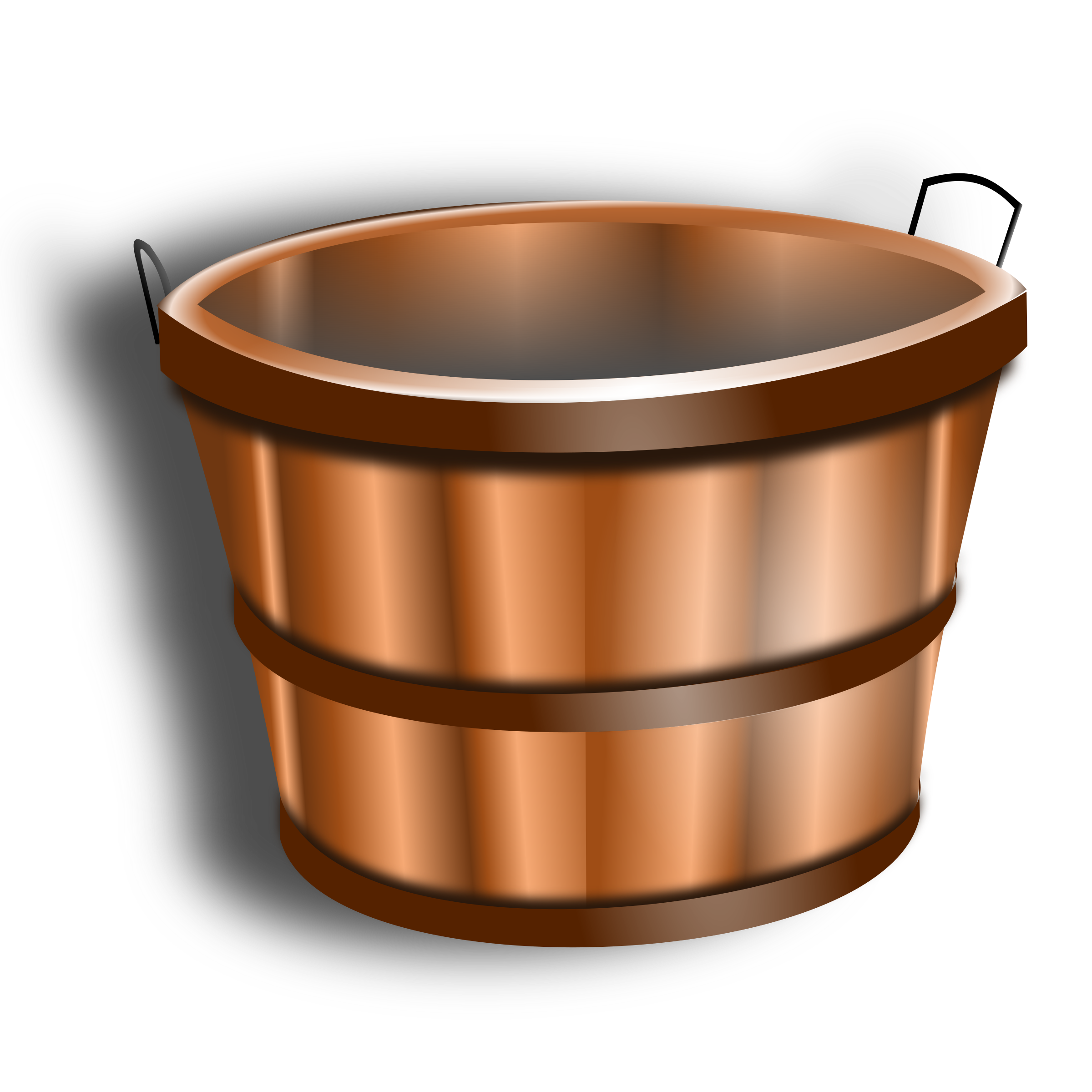 Wooden bucket png. Icons free and downloads