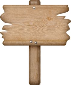 Wooden clipart sign board. Blank template for your