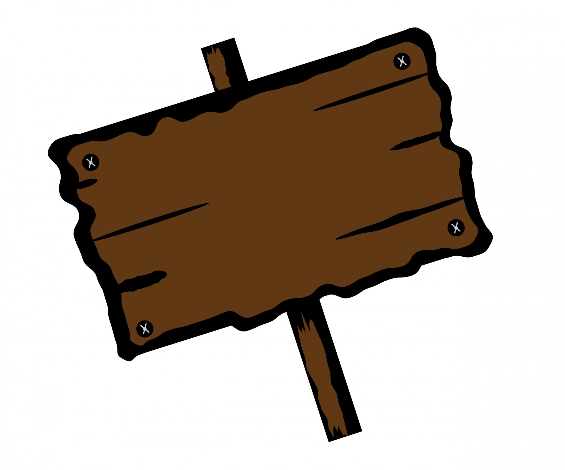 Wooden clipart sign board. Signboard free stock photo