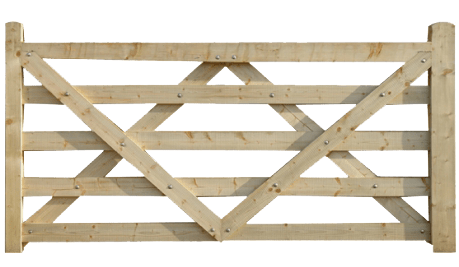 wooden gate png