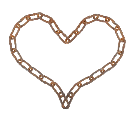 Wooden heart png. Chain by bettadenu on