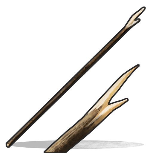 Wooden spear png. Rust wiki