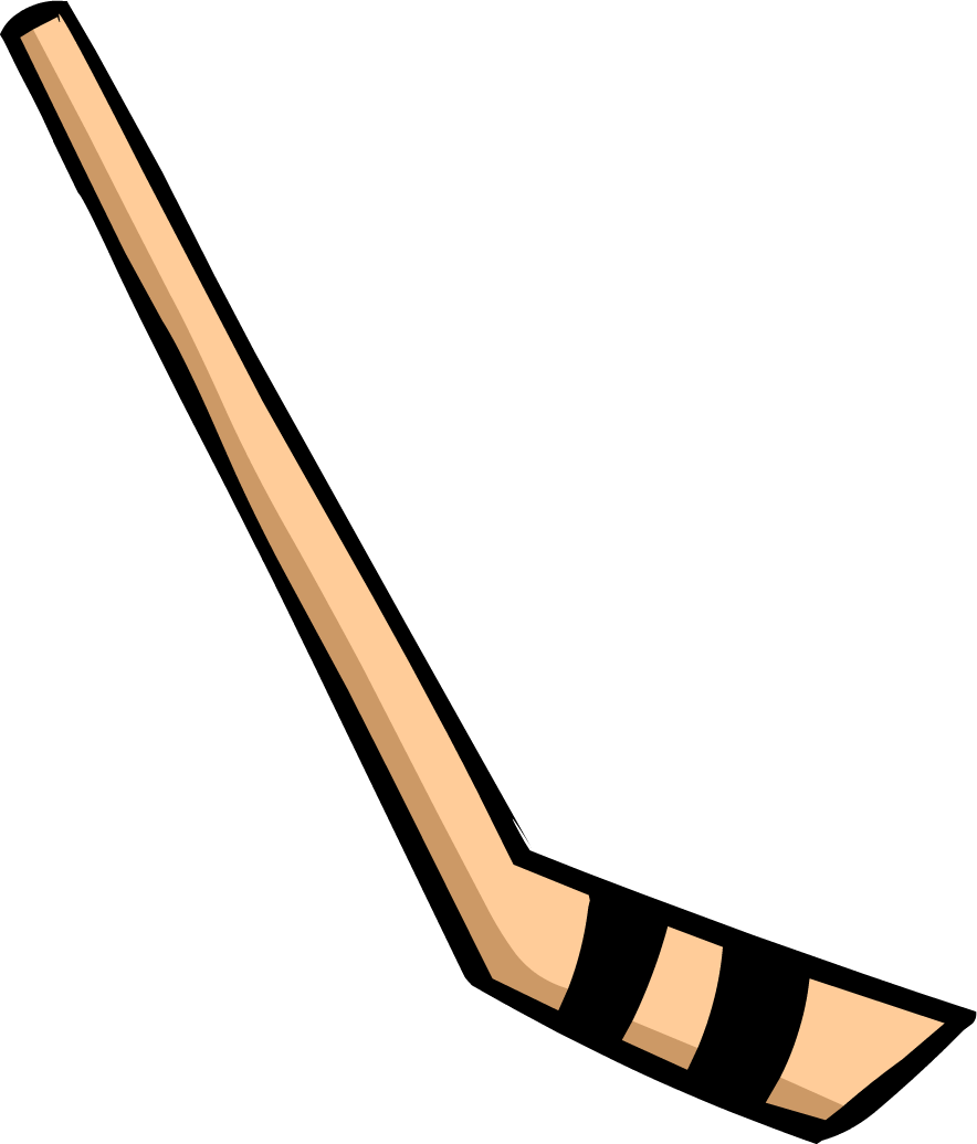 Image hockey stick png. Sticks clipart image black and white