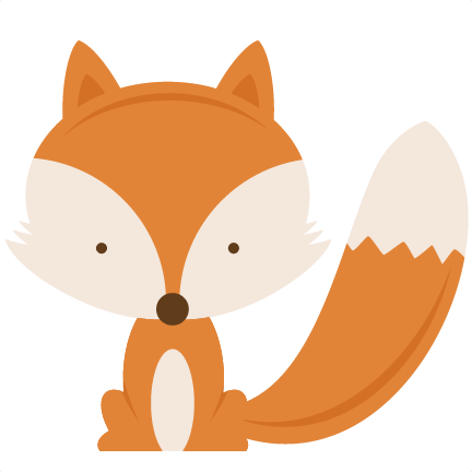 Woodland animals png. Fox svg cutting files