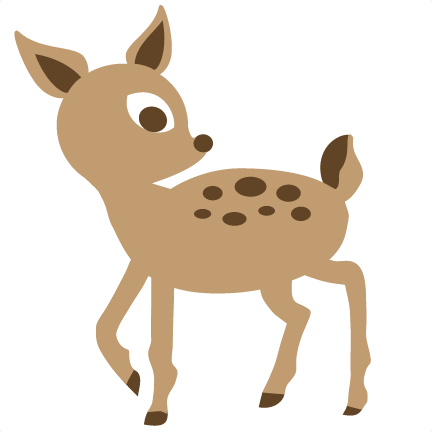Woodland animals png. Deer clipart free on
