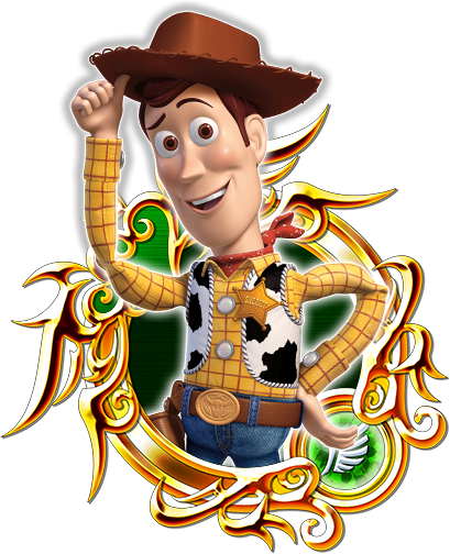 Woody and buzz png. Prime kingdom hearts unchained