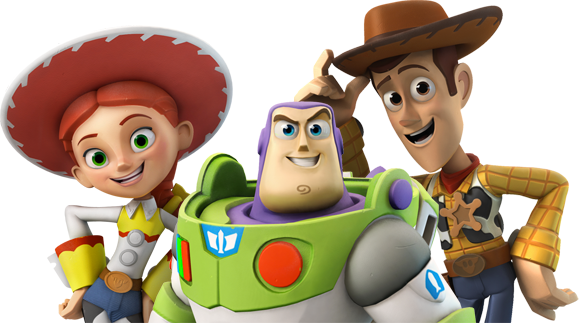 Woody and buzz png. Image toystorycrew disney infinity
