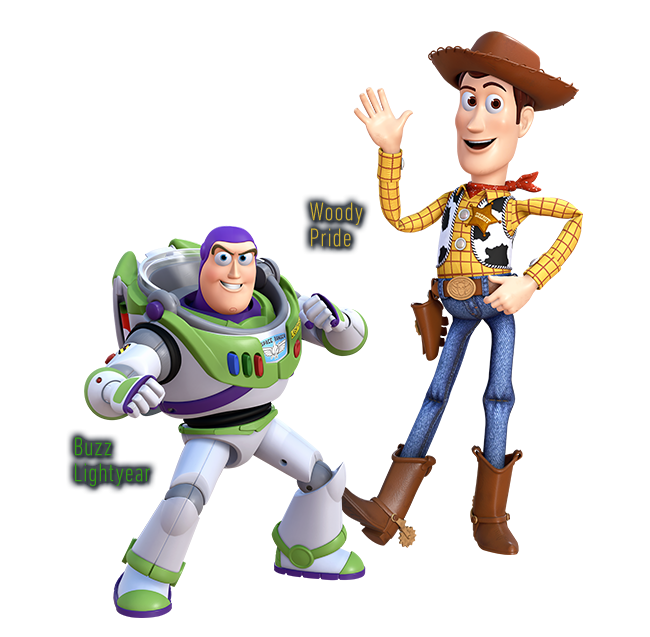 Woody and buzz png. Image khiii renders disney