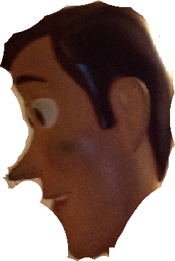 Woody face png. Image side head meep