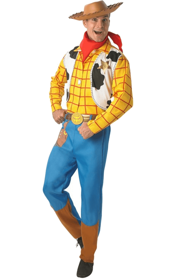 Woody y buzz png. Adult toy story costume