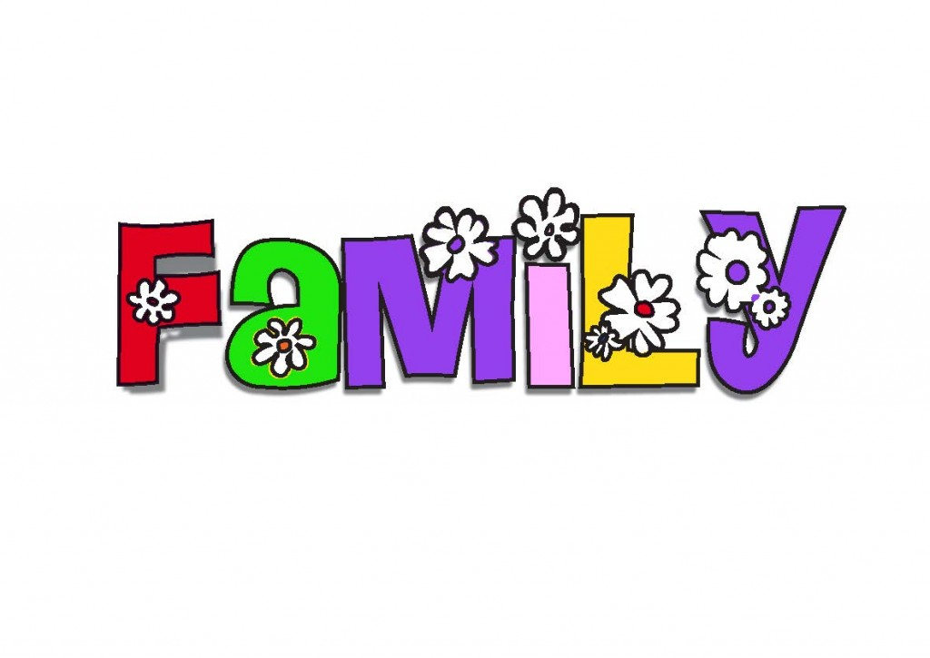 x my family. Word clipart school clip download