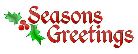 Free christmas words greetings. Word clipart seasons png black and white library