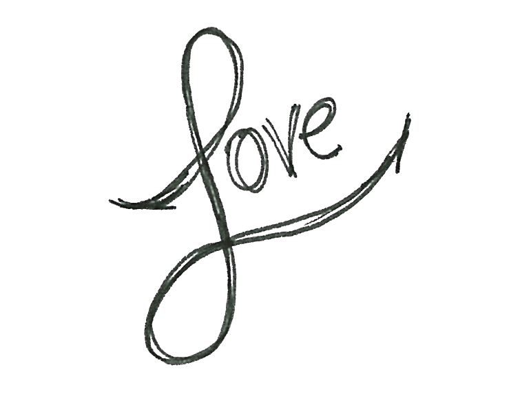 Word love png. Cool drawings of the