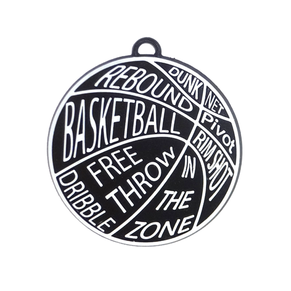 Words transparent basketball. With pieces cypress wreaths