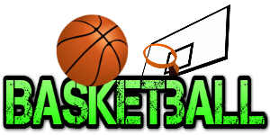 Words transparent basketball. Collection of the