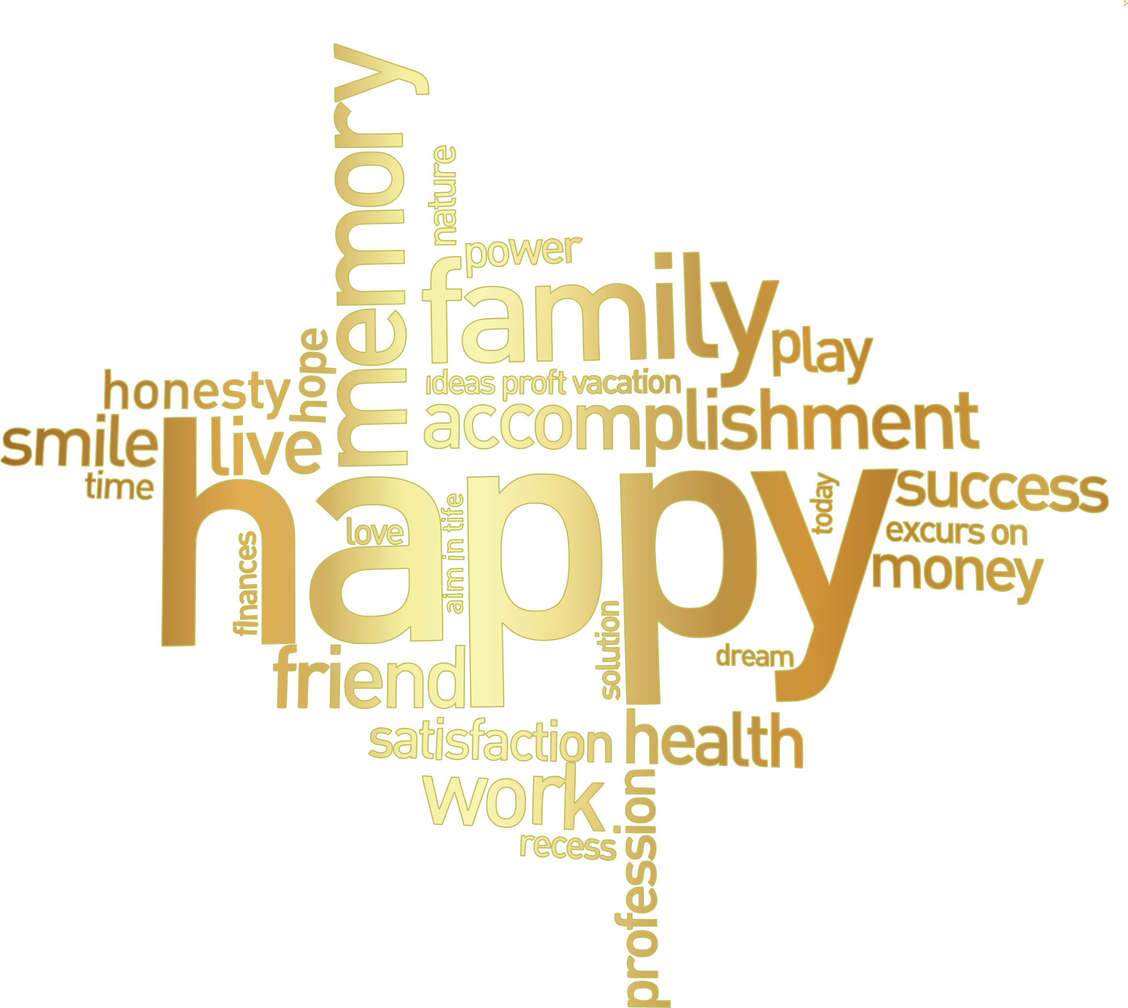Words transparent family. Word banner library