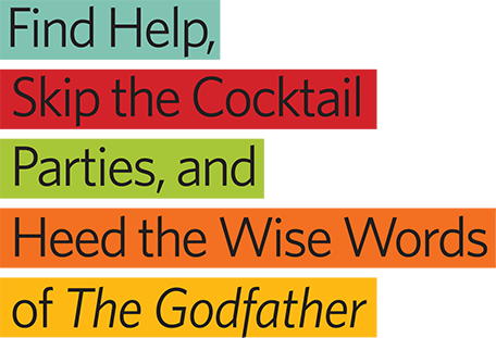 Words transparent magazine. Wise of the godfather