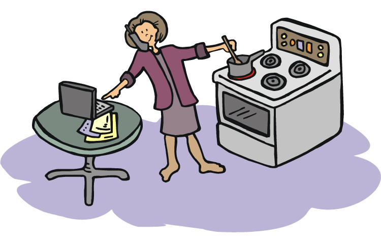 Work clipart home. Can you at for