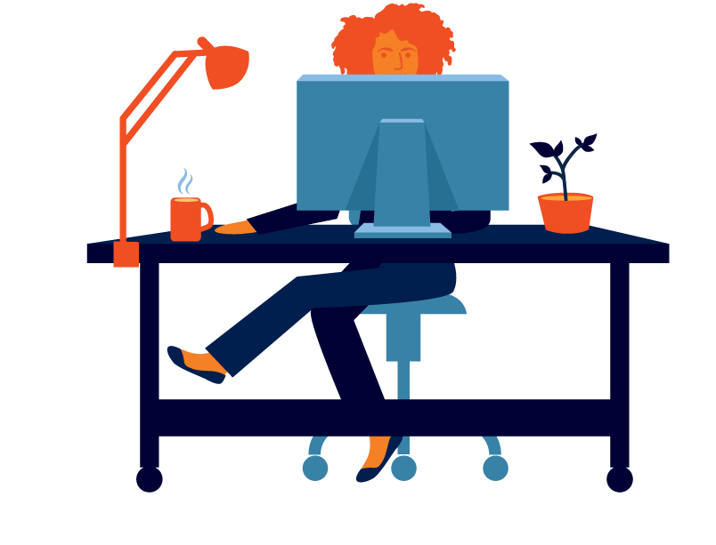 Work from home png. At remote jobs and