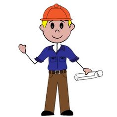 Circus clipart worker. Free cartoon workers wearing