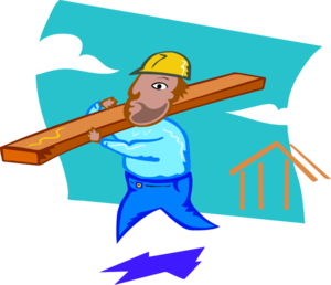 Worker vector clipart. Construction clip art at