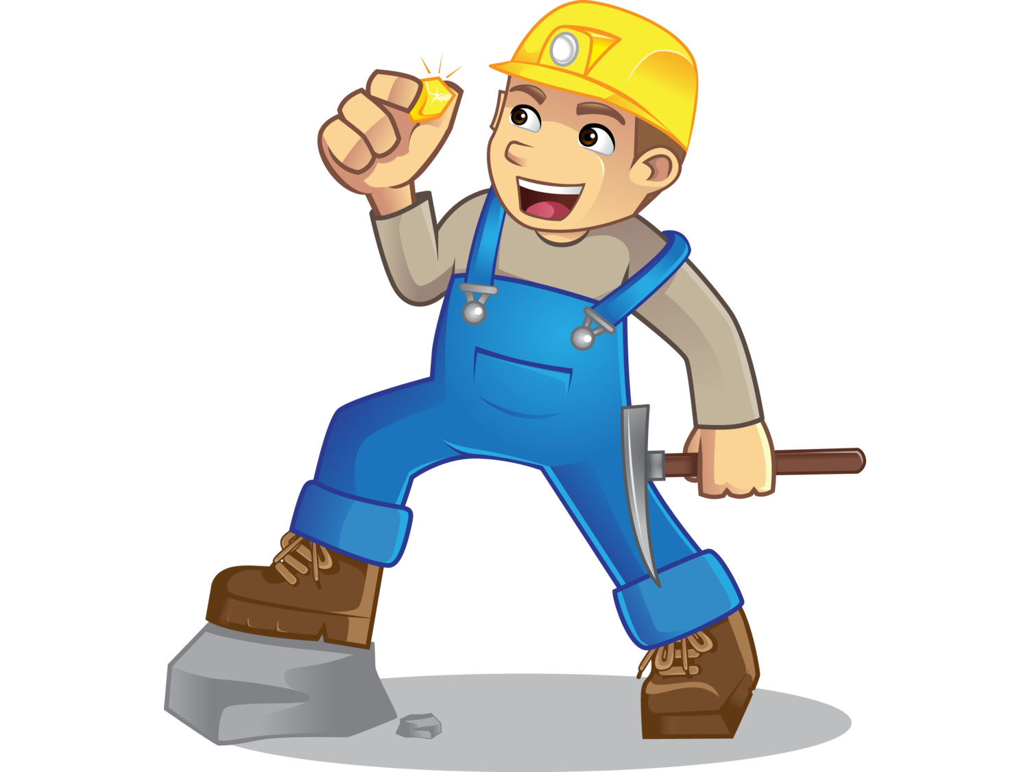 Working vector miner. By irwan januarso dribbble