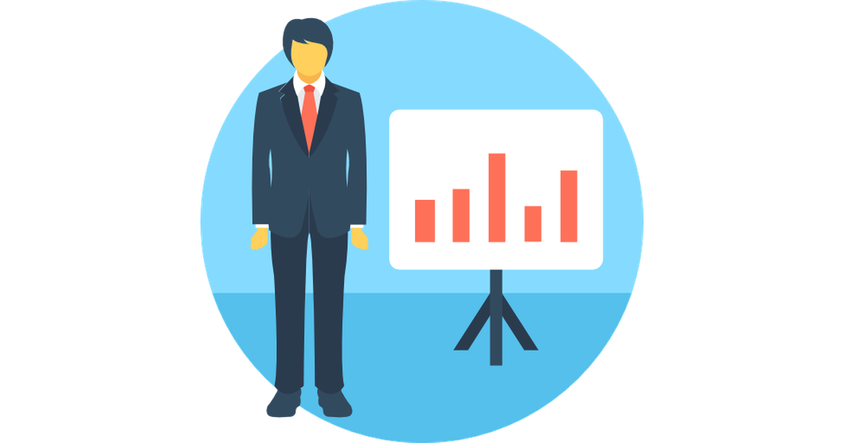 Vector market cartoon. Analytics free icons designed