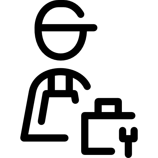 Worker vector repair. Free people icons icon
