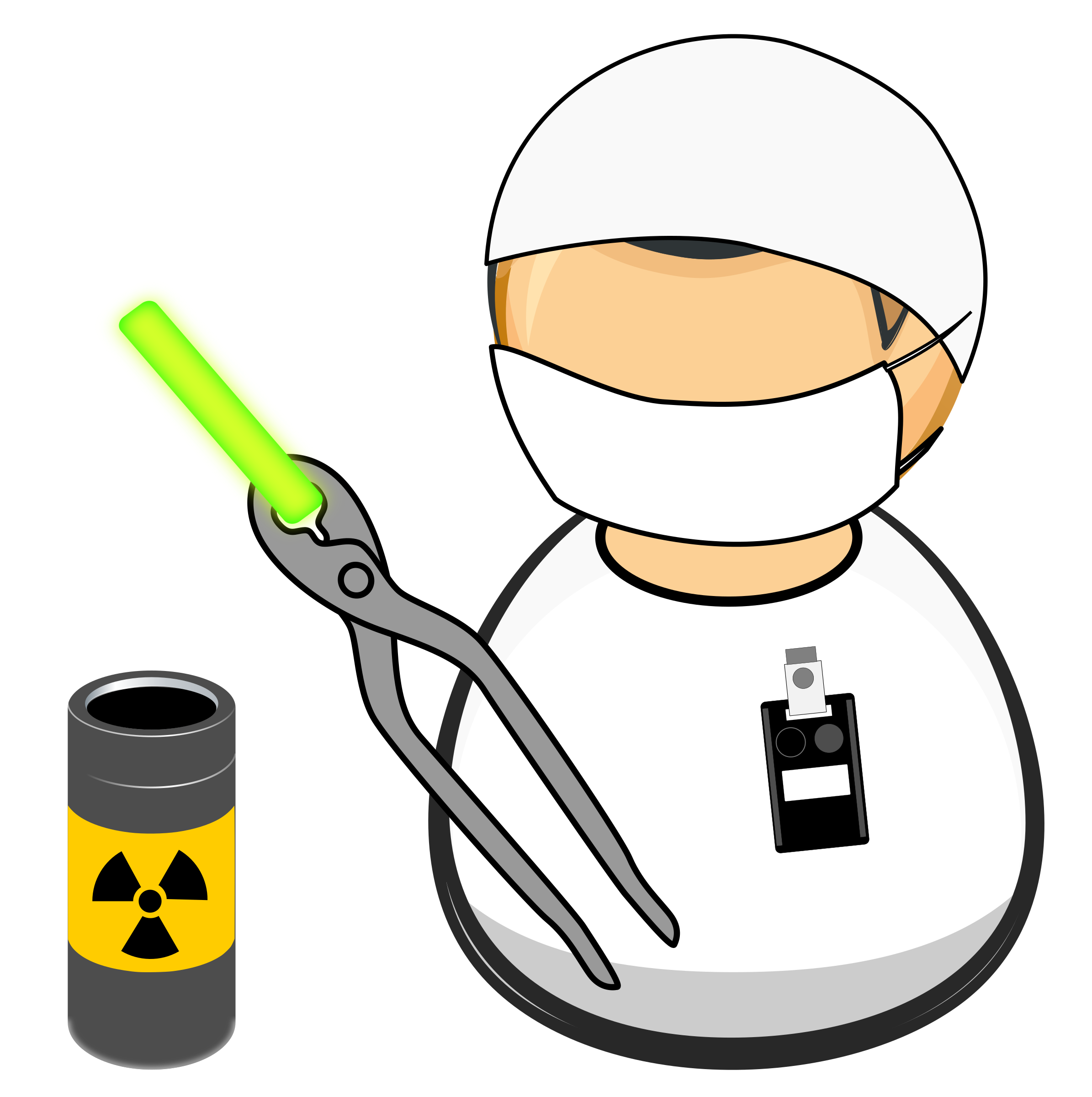 Nuclear facility icons png. Worker vector transparent image free