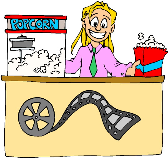 Workers clipart movie theater. Cinema loopele com cine