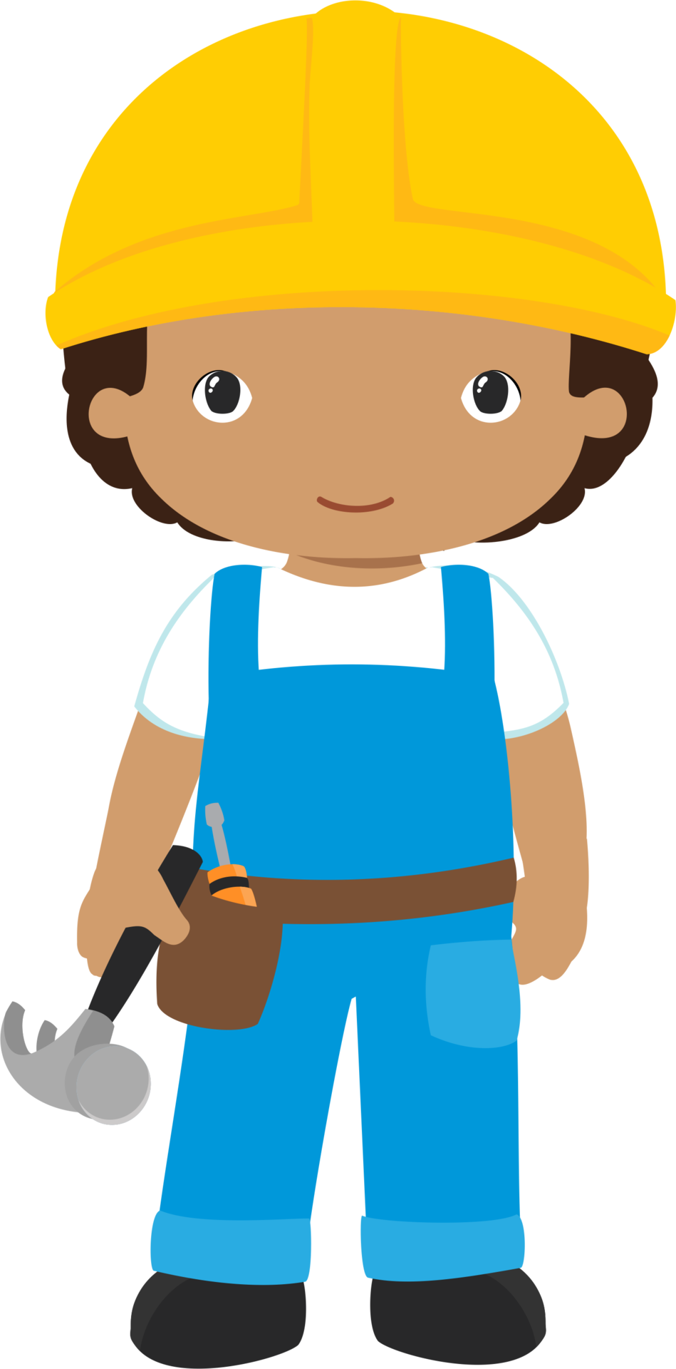 construction worker clipart png