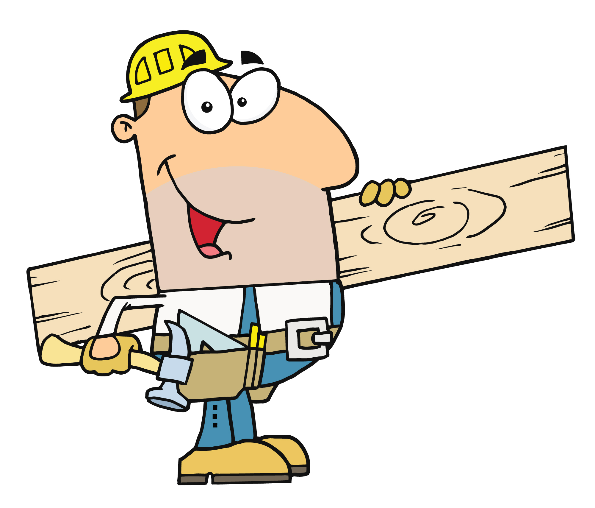 Working clipart. Wood