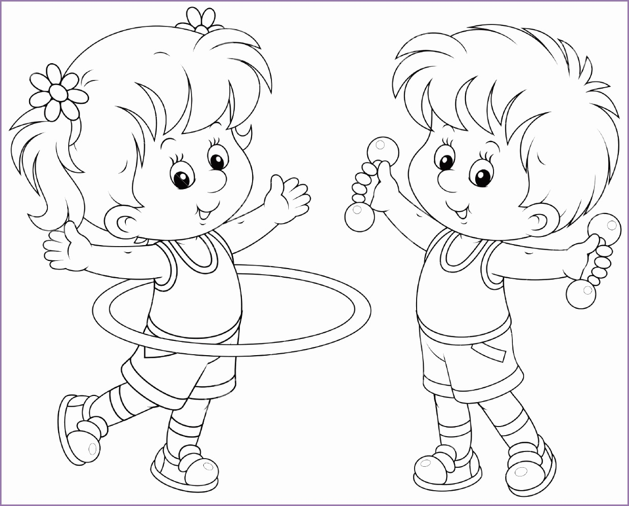 Workout clipart line art. Exercise clip black and