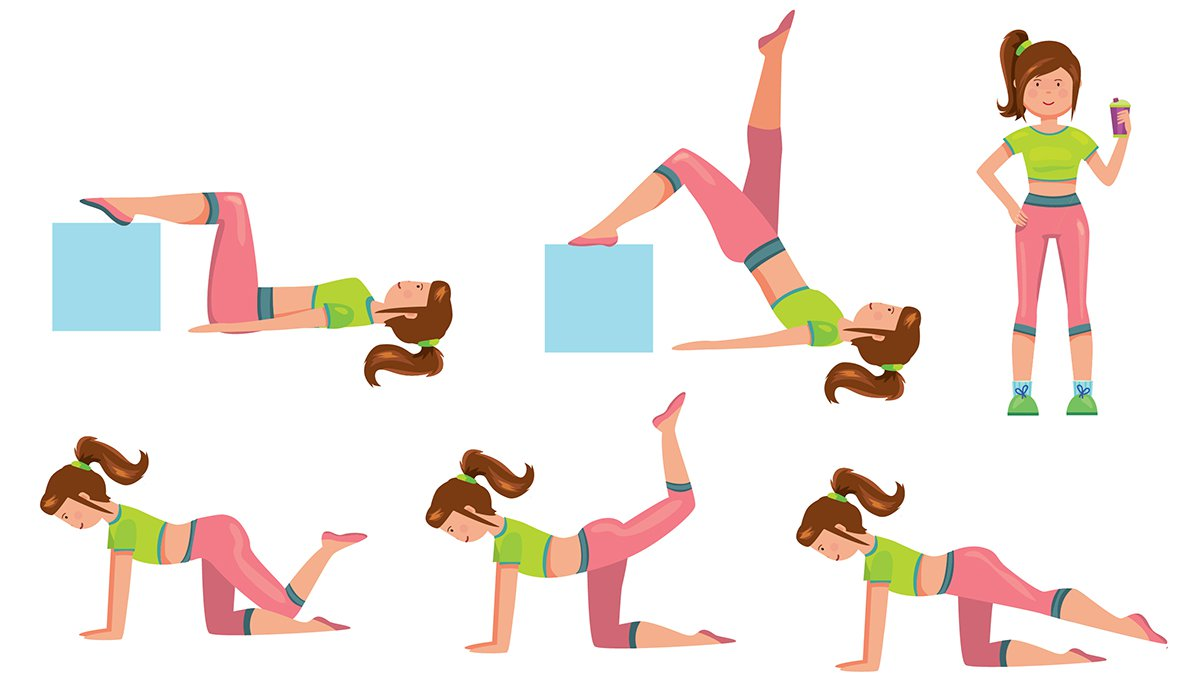 Workout clipart moderate exercise. Yes you can manage