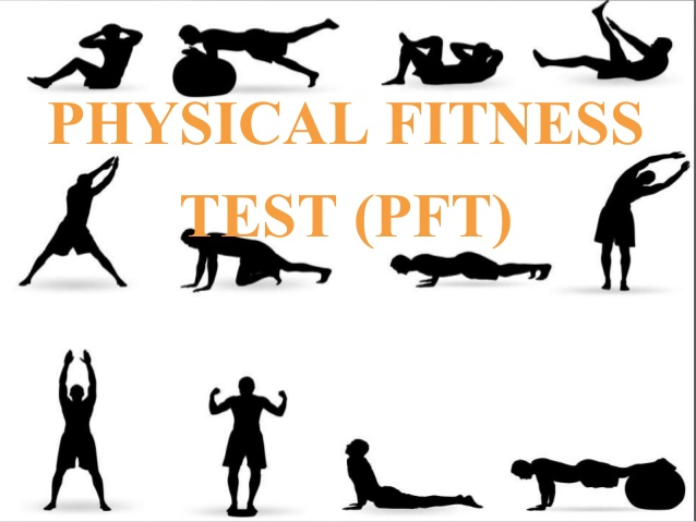 Workout clipart physical fitness test. What is pft