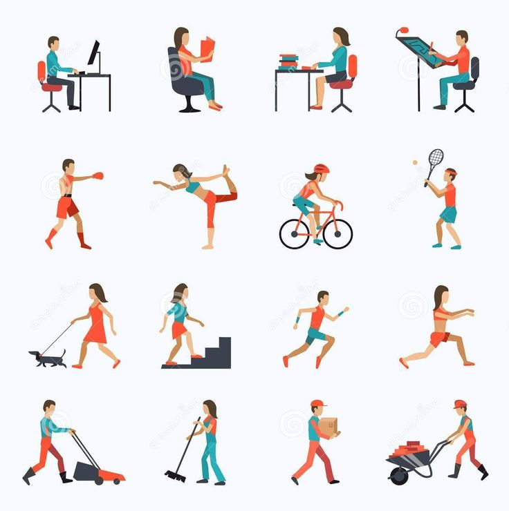 Workout clipart physical fitness test. Best exercises images