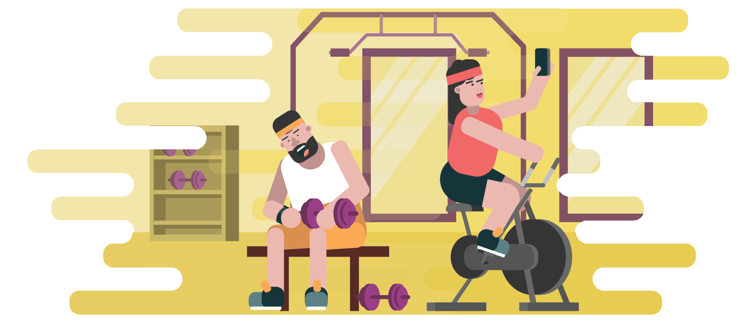 Workout clipart physical fitness test. Pop up lunchtime testing