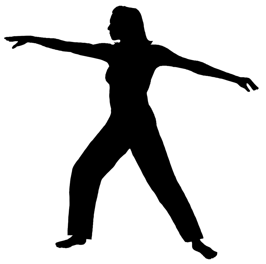 Workout silhouette png. Fitness woman at getdrawings